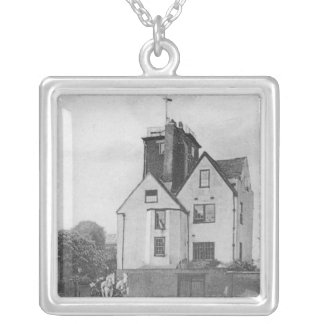 Canonbury Tower Silver Plated Necklace