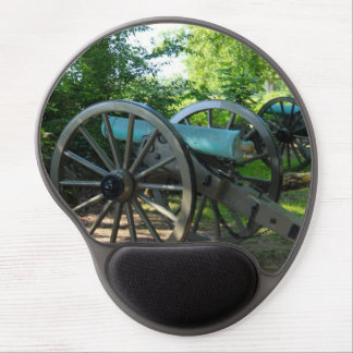 Cañones del parque militar nacional de Gettysburg Alfombrillas Con Gel