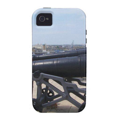 Cañones en Malta Vibe iPhone 4 Funda