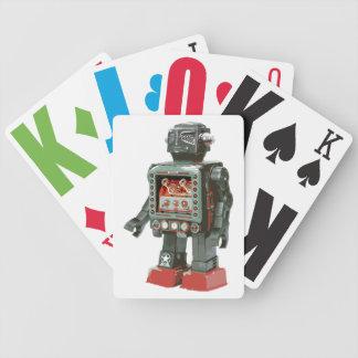 Canones preferidos del robot w del juguete baraja