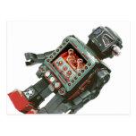 Canones preferidos del robot w del juguete postal