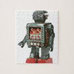 Canones preferidos del robot w del juguete puzzle