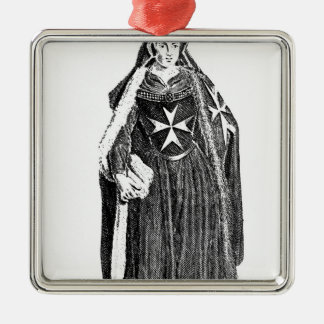 Canoness of the Order of St. John of Jerusalem Metal Ornament