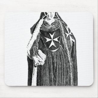 Canoness of the Order of St. John of Jerusalem Mouse Pad