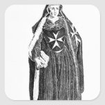 Canoness of the Order of St. John of Jerusalem Square Sticker