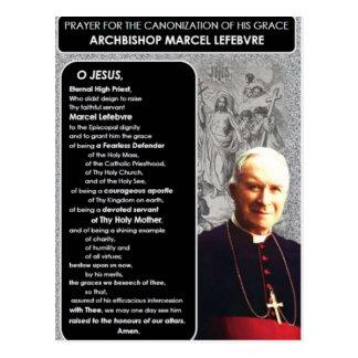 Canonization of Archbishop Marcel Lefebvre Postcard