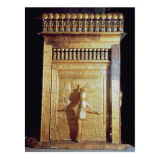 Canopic chest in the form of a shrine set postcard