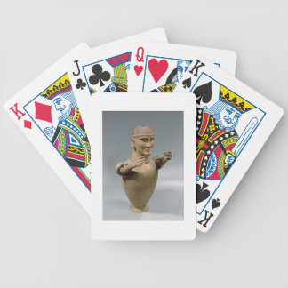 Canopic jar with moveable arms (clay) bicycle playing cards