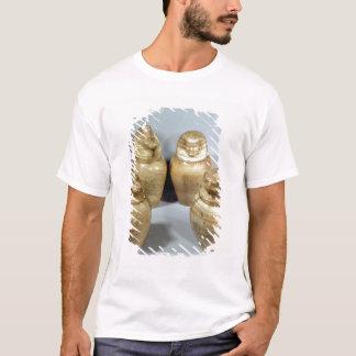 Canopic jars of Hor-ir-aa, Saite (alabaster) T-Shirt