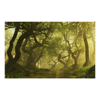 Canopy Creek Spring Poster