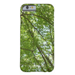 Canopy of Spring Leaves Green Nature Scene Barely There iPhone 6 Case