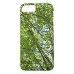 Canopy of Spring Leaves Green Nature Scene iPhone 7 Case