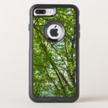 Canopy of Spring Leaves Green Nature Scene OtterBox Commuter iPhone 7 Plus Case