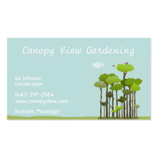 Canopy View Business Cards