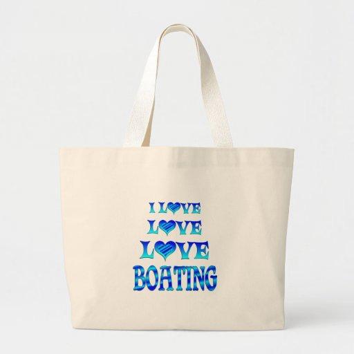 Canotaje del amor del amor bolsa de mano