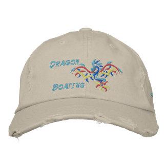 Canotaje del dragón, deportes del dragón del sol, gorra de beisbol bordada