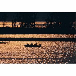Canotaje del río Misisipi Fotoescultura Vertical