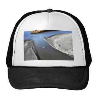 Canotaje en el río del puerco espín gorra