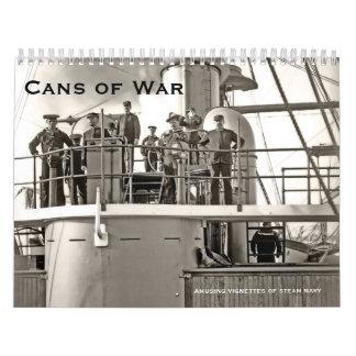Cans of War 3 Calendar