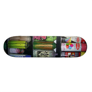 Cans Skateboard