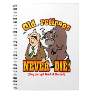 Cansado de Bull Libro De Apuntes
