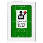 ¿Cansado de conseguir tarjetas? Tarjeta del feliz