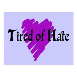 Cansado de odio postal