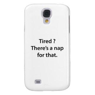 ¿Cansado Hay una siesta para ése
