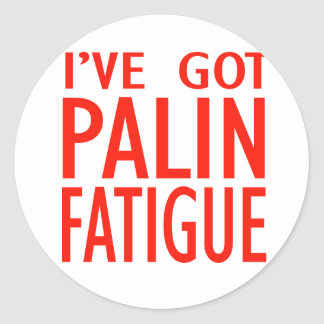 Cansancio de Palin Pegatinas