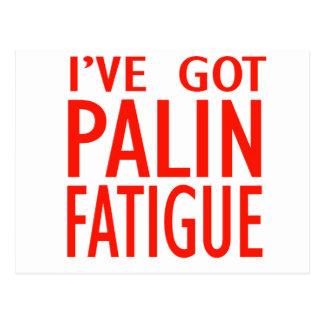 Cansancio de Palin Postal