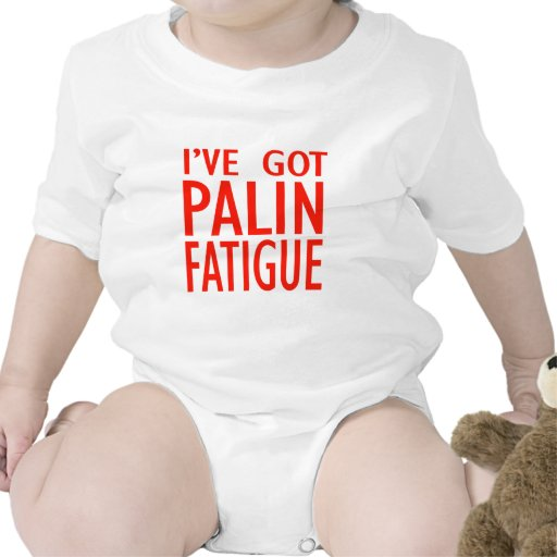 Cansancio de Palin Traje De Bebé