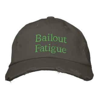 Cansancio del desalojo urgente gorra de béisbol