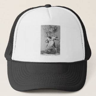 Can't anyone untie us? by Francisco Goya Trucker Hat