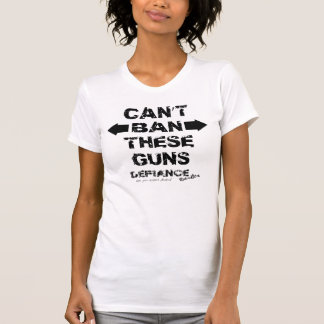 Can't Ban These Guns Racerback Tank