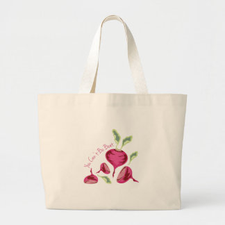 Cant Be Beet Large Tote Bag