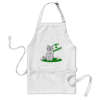Can't Be Bothered Cat Aprons