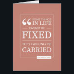"""can&#39;t be fixed card in coral<br><div class=""""desc"""">one of our most popular quotes,  on a card,  in coral</div>"""