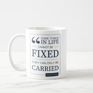 can't be fixed mug in navy