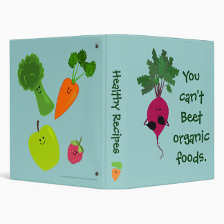 Can't Beet Organic Recipe Binder