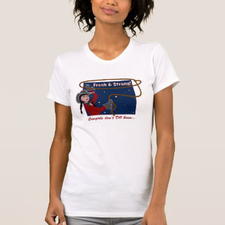 Can't Box Cowgirls Destroyed T-Shirt