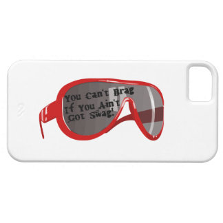 Can't Brag If You Ain't Got Swag iPhone 5 Cover