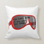 Can't Brag If You Ain't Got Swag Throw Pillow