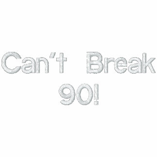 Can't Break 90 Golf Shirt Embroidered Polo Shirts