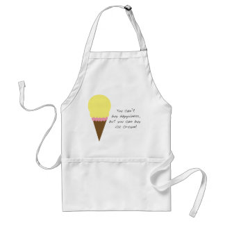 Can't Buy Happiness Apron (Ice Cream)