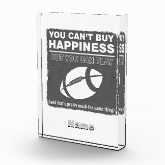 Can't Buy Happiness Football Award