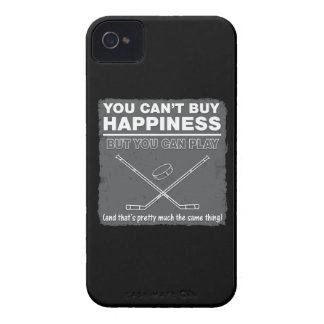 Can't Buy Happiness Hockey iPhone 4 Case-Mate Cases