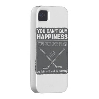 Can't Buy Happiness Hockey iPhone 4 Cover