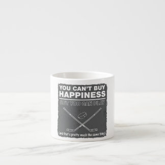 Can't Buy Happiness Hockey Espresso Cup