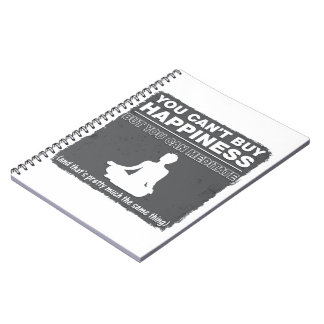 Can't Buy Happiness Meditate Spiral Notebook