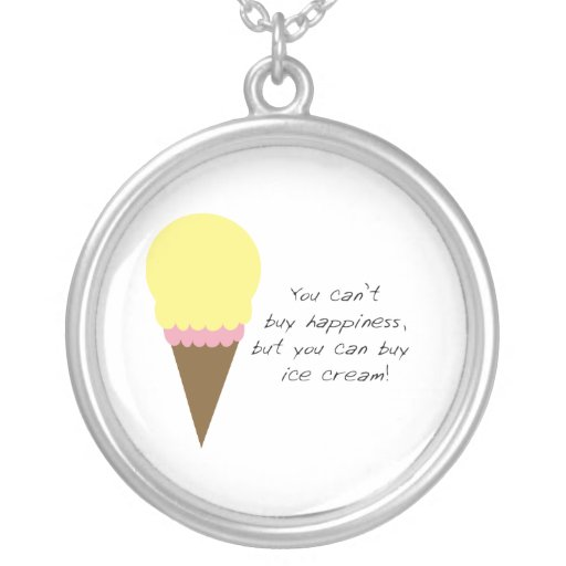Can't Buy Happiness Necklace